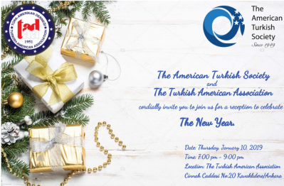 New Year's Reception with The Turkish American Association (TAA)