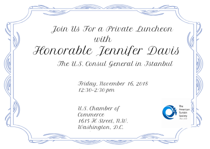 Private Luncheon with Honorable Jennifer Davis
