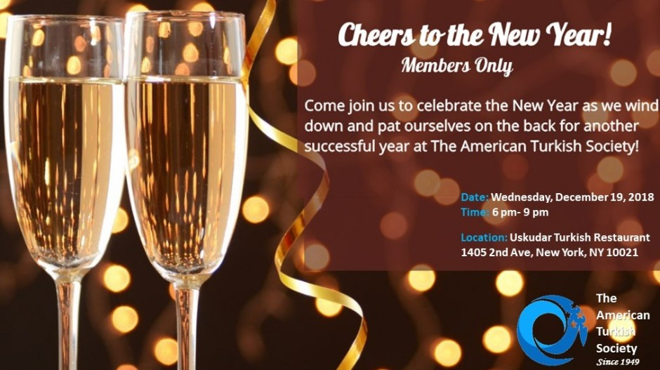 Join us to celebrate the New Year at Uskudar Restaurant!